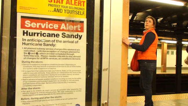 Убытки от урагана Сэнди в США