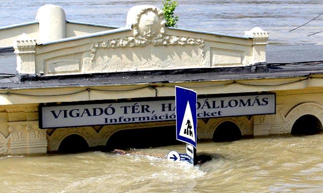 Убытки страховых компаний от наводнений в Европе. Наводниние в Европе