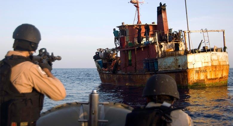 Частные охранники против сомалийских пиратов