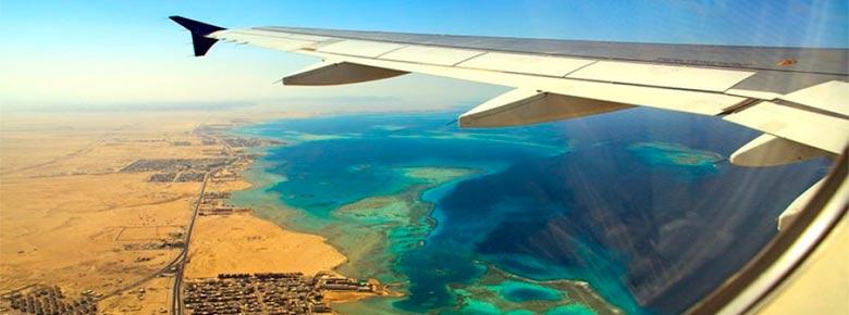 полёты над Египтом